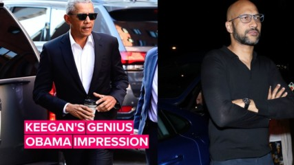 We can't stop watching Keegan-Michael Key's Obama impression