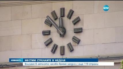 Къде в България е единственият часовник, който никога не спира?