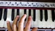 Learn how to play harmonium 01 Prabhupada mahamantra