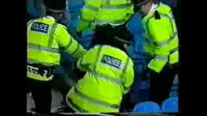 Football Hooligans - Man City v Chelsea ( 2001year)