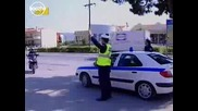 Дай лапа полицайче