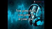 Jennifer Lopez - Let's Get Loud (karaoke)