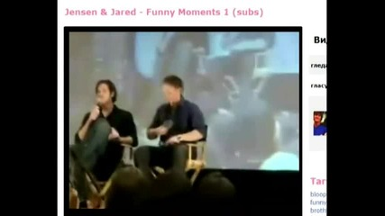 Jensen & Jared - Funny Moments 16 ???