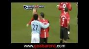 30.11.2008 - Manchester C. 0 - 1 Manchester C.Ronaldo Червен Картон