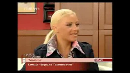 Камелия в Здравей България