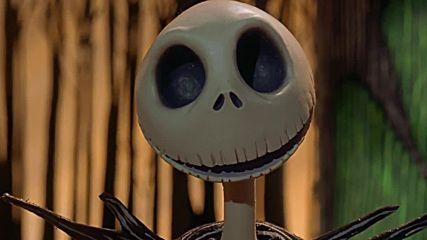 [1/4] Кошмарът преди Коледа - Бг Субтитри - анимация (1994) the Nightmare Before Christmas # 720p hd