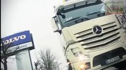 Камион - такси - Mercedes-benz се гъбарка с конкуренцията