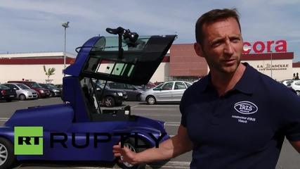 France: Say hello to the Iris Viseo, a transformer-esque surveillance vehicle