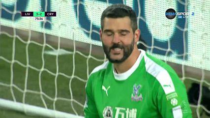 """Втори куриозен вратарски гаф пред """"Коп""""-а, Ливърпул отново напред"""