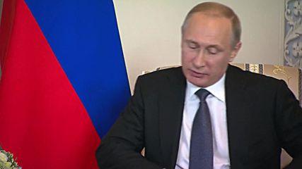 Russia: Ban Ki-moon thanks Putin for strong 'global leadership'