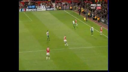 Манчестър Юнайтед - Бурсаспор 1 - 0 гол на Нани *шл*20.10.10