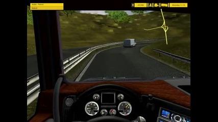 Euro Truck Simulator Daf Xf Mod