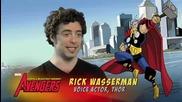 Отмъстителите:най - могъщите герои на Земята - интервю с Рик Уасерман