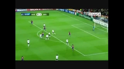 Lionel Messi Goals and skills 2010*