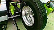 Мобилна машина за ремонт на гуми .