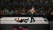 Dean Ambrose vs. Seth Rollins - Wwe Battleground - Wwe 2k14 Simulation