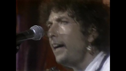 Bob Dylan, Keith Richards & Ron Wood - Blowin In The Wind (live Aid 1985)