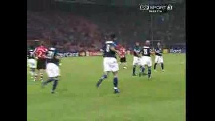 Inter Vs. Psv Champions Laegue 07 - 08 (2 Гола на Ибрахимович)