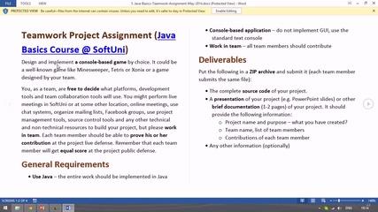 1. Java Basics - представяне на курса (Наков)