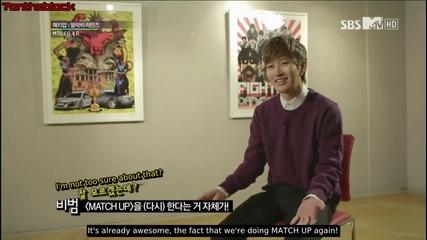 Превод! Block B - Match Up Returns Episode 1 [1/5]