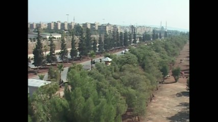 Syria: Skyline clear over E. Aleppo as humanitarian pause comes into effect
