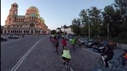 Велоразходка из нощна София