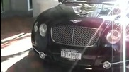 Bentley Continental Mansory Gt63 In Miami Beachwith Real Diamonds!!!!!