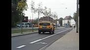 Hummer H2 accelerates