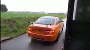 bmw m3 gts exhaust sound start acceleration sportauspuff