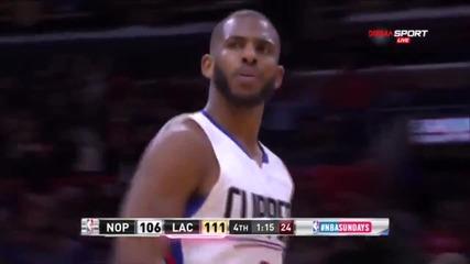 Марково шоу в НБА: ЛА Клипърс би Ню Орлиънс в луд мач
