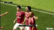Pes 2012 Demo Highlights Milan vs Man U