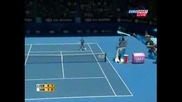 Federer Vs Santoro - Aus Open 2008 - Pt 1