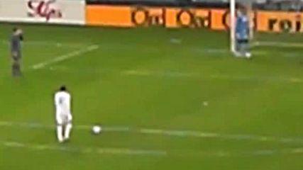 Втори гол на Бербатов срещу Псв Айндховен