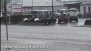 Силна буря в Илинойс 28.4.2014