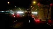 По тъмно в Холандия - /тунела на Утрехт/ - Night in Netherlands /utrecht Tunnel/