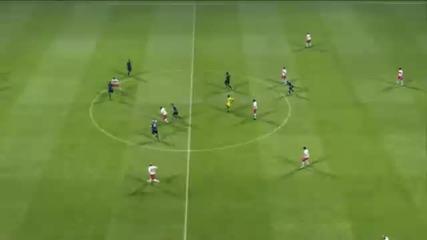Топ 25 гола на Pes 2011 част 1