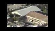 Екслузивни кадри от заметресението в Хаити с Хеликоптер