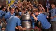 Състезание по пиене на бира ( Сцена от Филма American Pie )