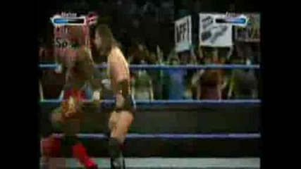 Wwe Smackdown Vs. Raw 2009 - Shelton Benjamin Vs. Curt Hawkins