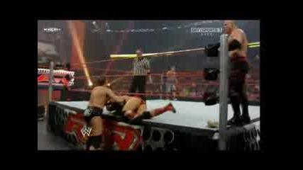 John Cena & Batista Vs. JBL & Kane 28.07.2008