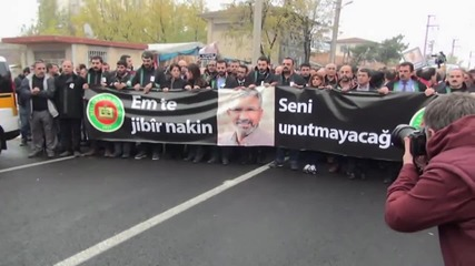 Turkey: Funeral procession held for Kurdish lawyer shot dead in Diyarbakir
