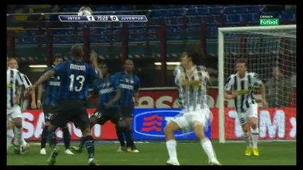 Удивителен гол на Майкон срещу Ювентус.