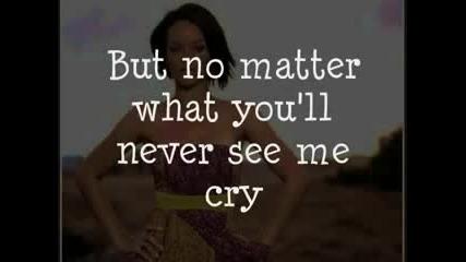 Rihanna - Cry (with lyrics)