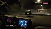 Зверска Нощна Надпревара Nissan Gt-r Boostlogic Godzilla vs Ams Alpha 12+