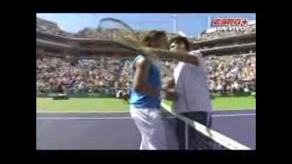 Nadal Vs Djokovic Ms Indian Wells Финал