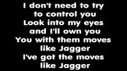 Maroon 5 move like jagger