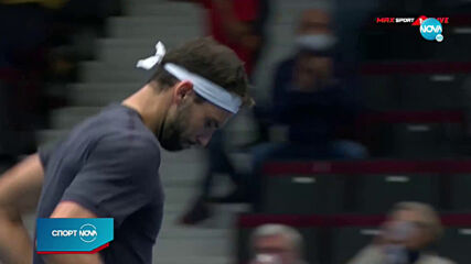 Григор Димитров е на 1/4-финал във Виена
