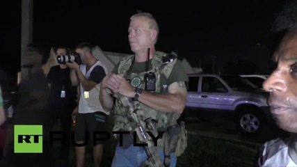 USA: 'Oathkeepers' turn up to Ferguson protest armed with assault rifles