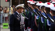 France: Paris shows off military might at Bastille Day parade