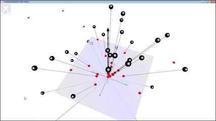 №20471 - Централна проекция с матрица